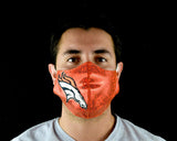 NEW ORLEANS UNOFFICIAL NFL Luchador Protective Reusable Breathable Washable Mouth Cover Face Mask