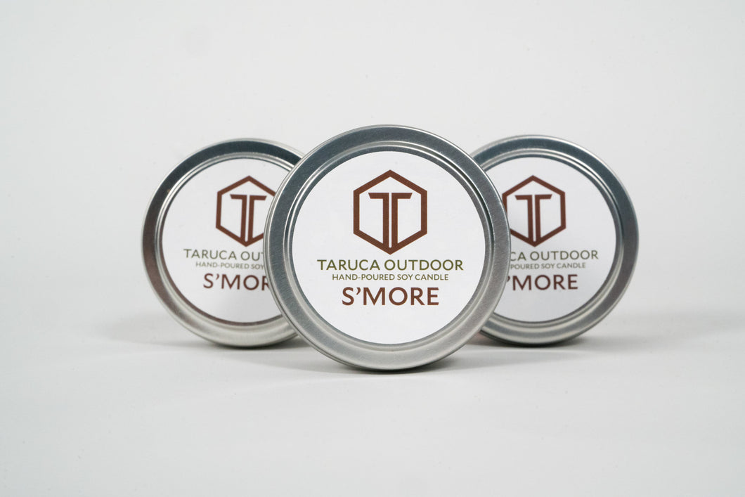 S'mores Travel Candle Trio