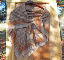 Lightweight Square Cotton Scarves