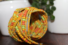 Pretzel Braid Beaded Cuffs - Multiple Color Options