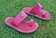 Toddler Girl Leather Sandals