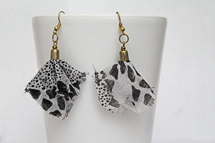 Bandana Earrings