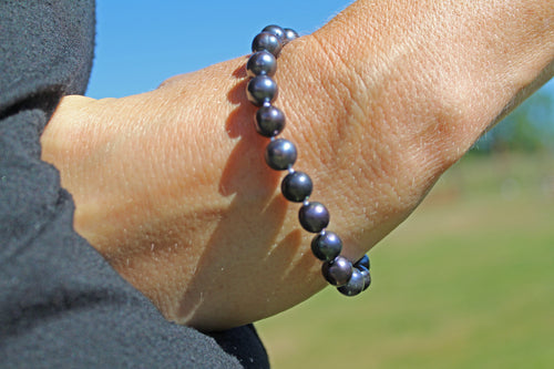 Genuine Black Pearl Bracelet (China)