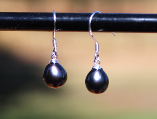 Genuine Pearl Earrings (China)