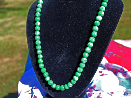 Genuine Jade Bauble Necklace (China)