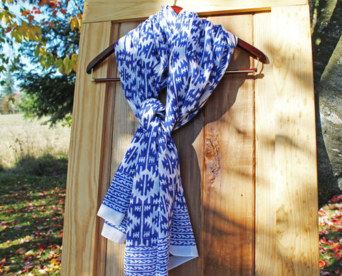 Long & Lean Cotton Scarves