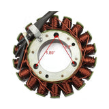 GOOFIT 18 Poles Magneto Stator Coil for Honda Helix CN250 Elite CH250 Baja Hammerhead Roketa GY6 250cc Water Cooled Engine