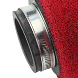 GOOFIT 38mm Red Air Filter for ATV Dirt Bike and Go Kart