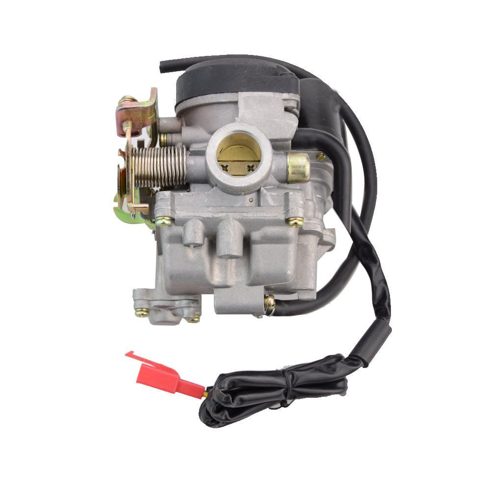 GOOFIT PD18J Carburetor with Electric Choke for 4 Stroke GY6 49cc 50cc  Chinese Scooter Moped 139QMA 139QMB Taotao Kymco