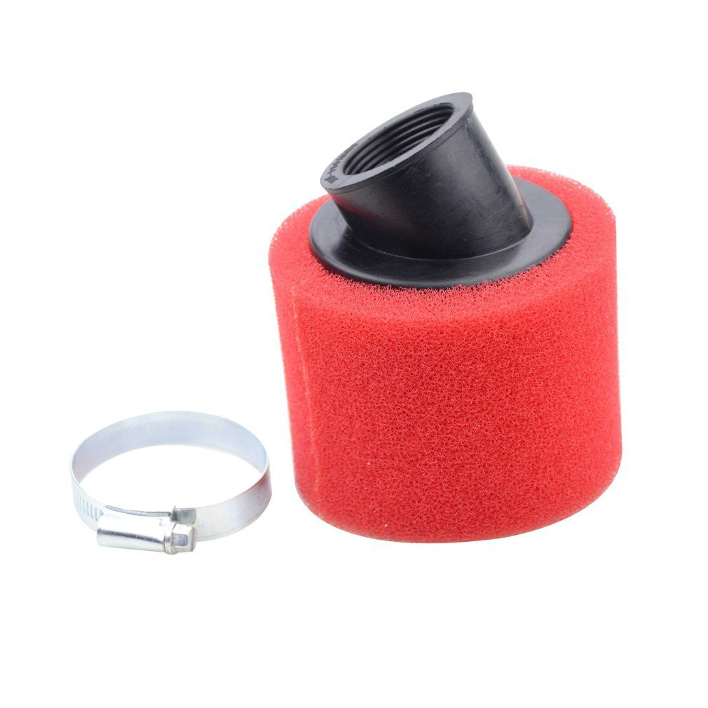 GOOFIT 42mm Air Filter for 4 stroke 50cc 70cc 90cc 110cc 125cc ATV Dirt Bike Red