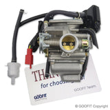 GOOFIT PD24J Carburetor for GY6 125cc 150cc ATV Scooter 152QMI 157QMJ Engine