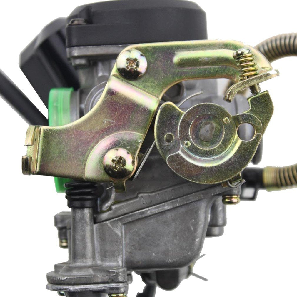 GOOFIT PD18J Carburetor with Accelerator Pump for GY6 50cc 80cc 90cc 139qmb  4 Stroke Engine ¡
