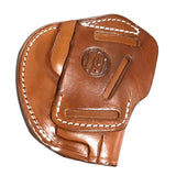 1791 GUNLEATHER 3-Way Leather Size 5 Classic Brown Belt Holster (3WH-5-CBR-A)