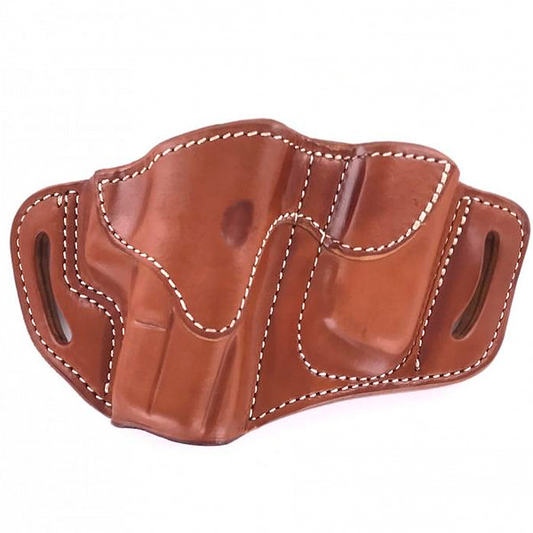 1791 GUNLEATHER Brown Combo Belt Holster BH21M12-CBR-R