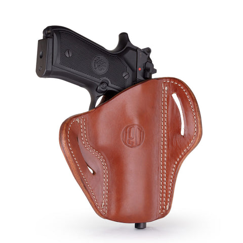 1791 GUNLEATHER BH2.4 Open Top Multi-Fit Classic Brown LH Holster (BH2.4-CBR-L)