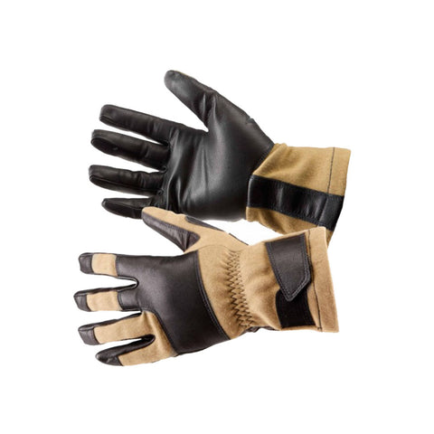 5.11 Tac NFOE2 Nomex Flight/Tactical Tan Gloves (59361-170)