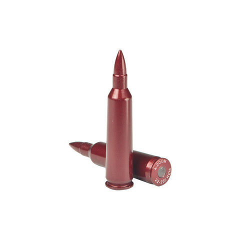 A-ZOOM 22-250 Rem Precision Metal Snap Caps, 2-Pack (12254)