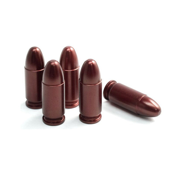 A-ZOOM Precision Metal 9mm Luger Snap Caps 15116