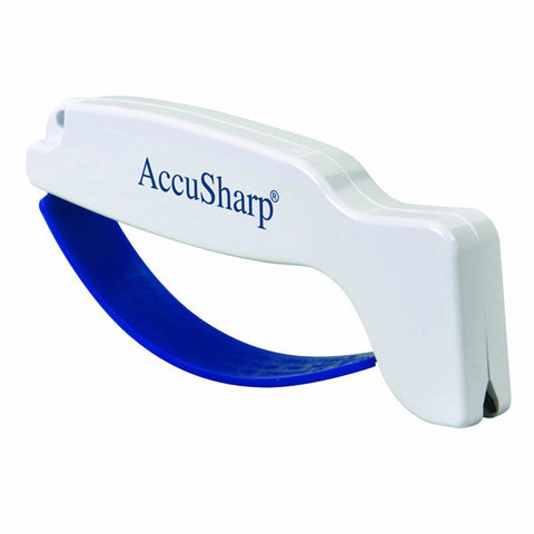 ACCUSHARP Knife and Tool Sharpener, White (001)