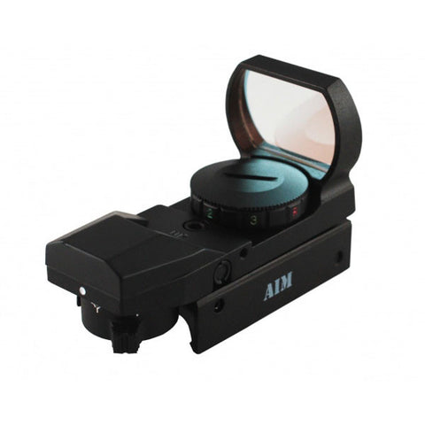 AIMSPORT Dual Illuminated Red Dot Sight, 4 Reticles (RT4-03)