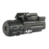 AIMSPORT Flashlight/Green Laser Combo w/QR Mount (LGFQ01)