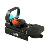 AIMSPORT Red Dot Sight, 4 Reticles (RT4-01)