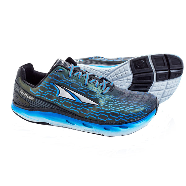 ALTRA Mens Impulse Flash Black-Blue Shoes AFM1746F-1