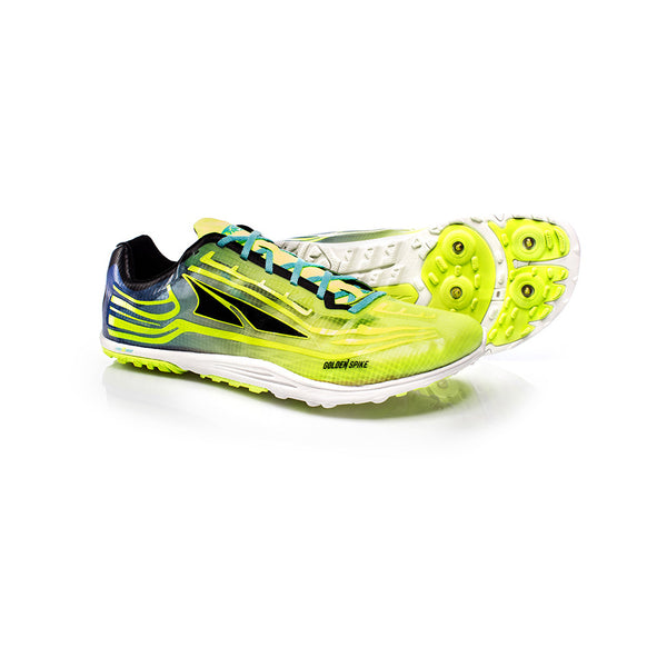 ALTRA A3621-5 Unisex Golden Spike Lime-Blue Running Shoes