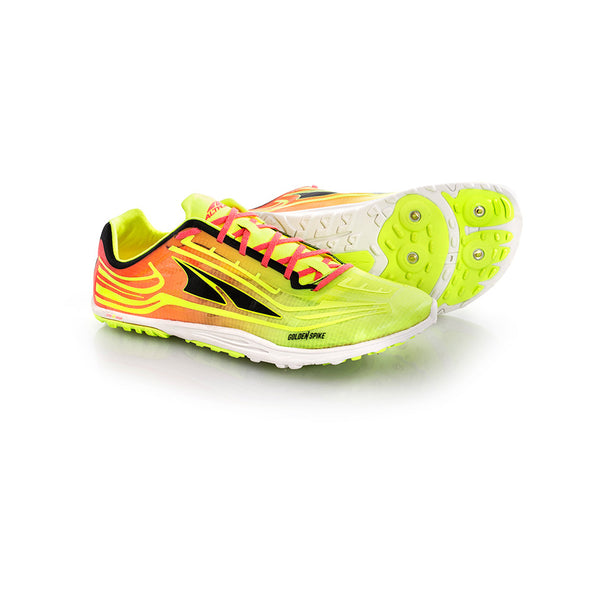 ALTRA A3621-6 Unisex Golden Spike Lime-Pink Running Shoes