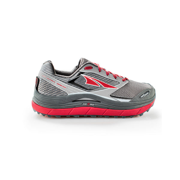 ALTRA Mens Olympus 2.5 Black-Red Trail Running Shoes (AFM1759F-2)