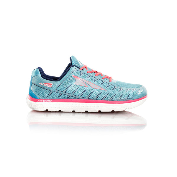 ALTRA Womens One V3 Light Blue-Coral Running Shoe AFW1734F-2