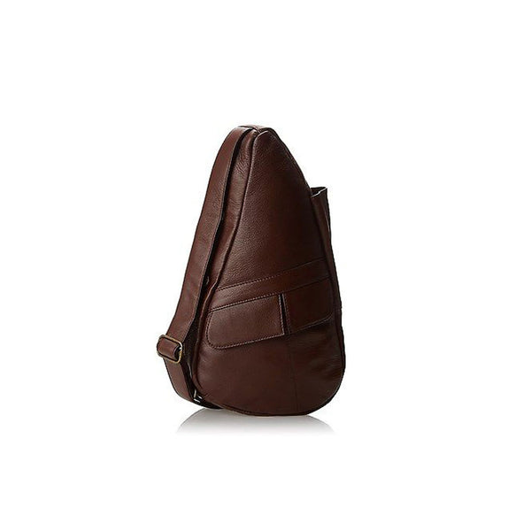 AMERIBAG 5102-CT Leather XS Chestnut Healthy Back Bag