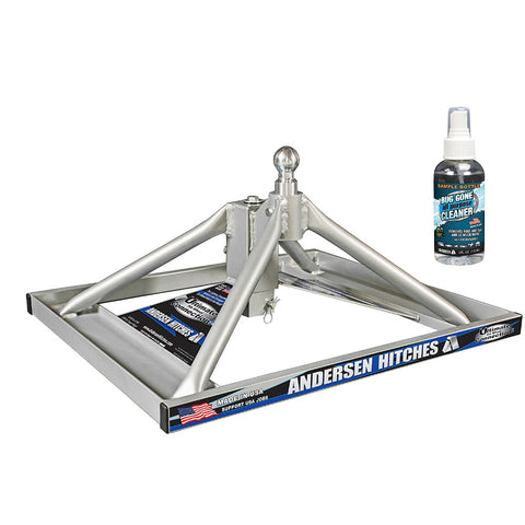 ANDERSEN Ultimate Connection Aluminum Gooseneck For All Fuel Cells and Toolboxes (3220-TBX)