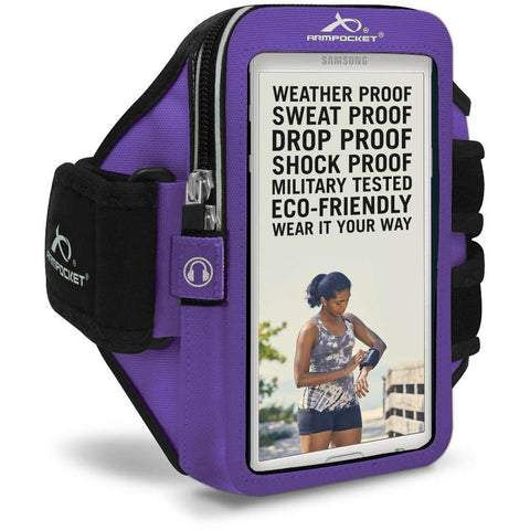 ARMPOCKET 40PP Purple Mega i-40 Armband Phone Case