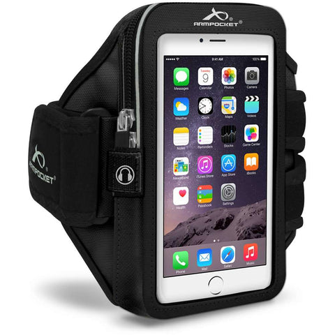 ARMPOCKET 40PSBK Black Mega i-40 Plus Armband Phone Case