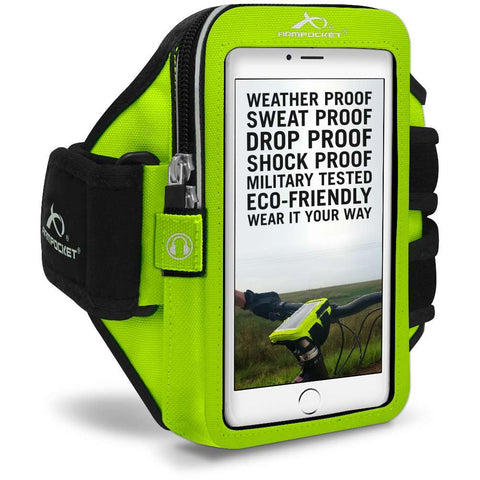 ARMPOCKET 40YL Yellow Mega i-40 Armband Phone Case