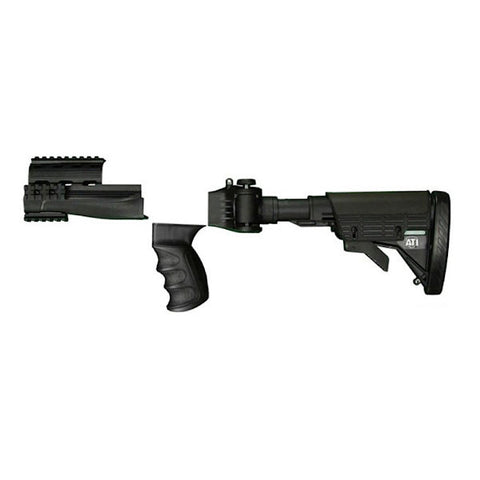 ATI AK-47 Adjustable Side Folding Strikeforce Stock, Black (A2101250) (A2101250)