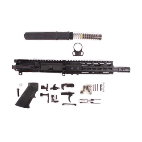 ATI AR15 Pistol Kits, .300 Blk Out, Complete upper, Lower Parts Kit, 7