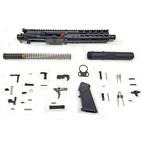 ATI AR15 Pistol Kits, 5.56, Complete upper, Lower Parts Kit, 7