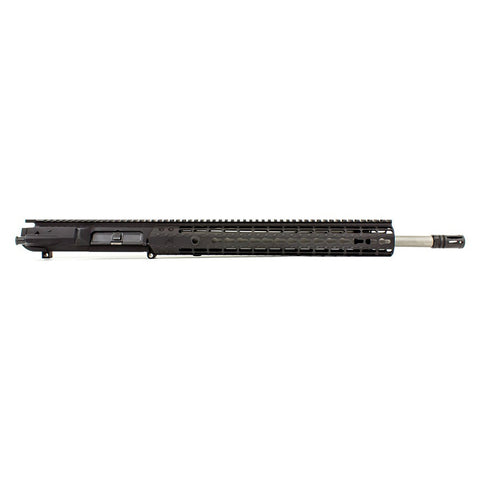 AERO PRECISION M5E1 18in 308 SS Rifle Barrel EK-12 HG Anodized Black Complete Upper (APAR308534P26)