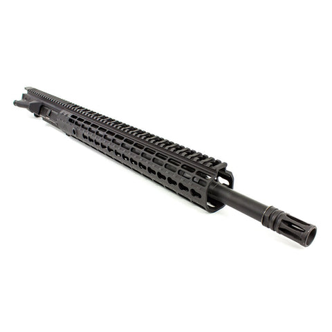 AERO PRECISION M5E1 18in 308 Rifle Barrel EK-15 HG Anodized Black Complete Upper (APAR308554P25)