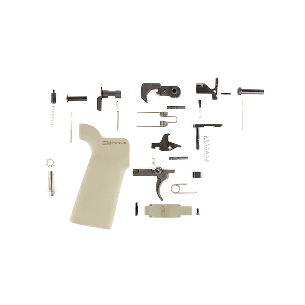 AERO PRECISION AR15 Enhanced B5 Systems FDE Lower Parts Kit (APRH100351)