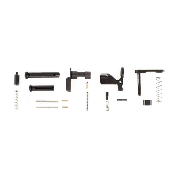 AERO PRECISION AR15 Lower Parts Kit Minus FCG/Trigger Guard/Pistol Grip (APRH100385)