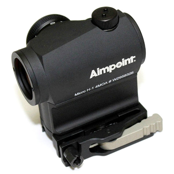 Aimpoint Micro H-1 4MOA Red Dot Sight LRP mount 12940