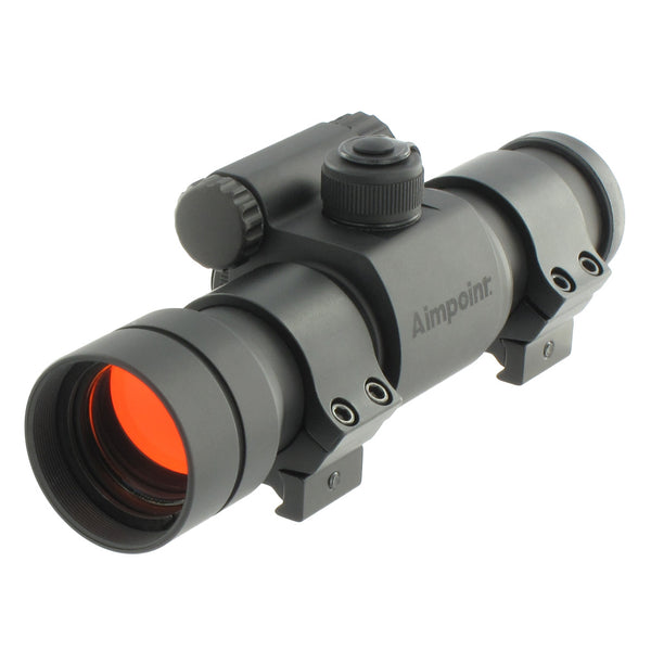Aimpoint 9000SC 2MOA NV Red Dot Sight with Rings 200136