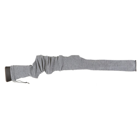 ALLEN 52in Gray Knit Gun Sock with Drawstring Closure (131)