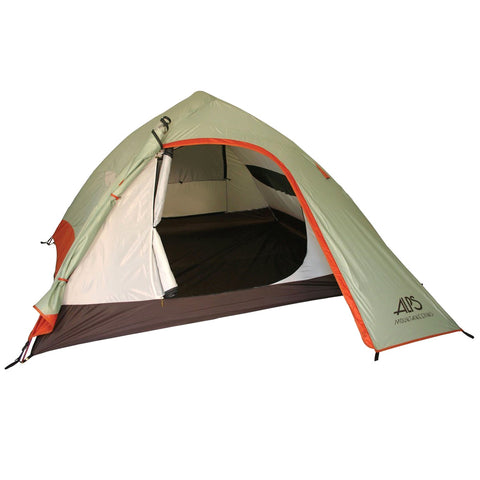 ALPS-MOUNTAINEERING Vertex 4 Tent, Sage/Rust (5423619)
