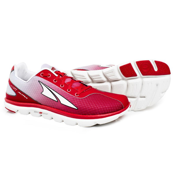 ALTRA Mens One 2.5 Red/Silver Running Shoes (A1623-3)