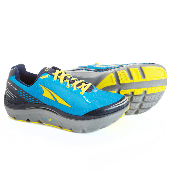 ALTRA Mens Paradigm 2.0 Blue/Yellow Running Shoes (A1635-5)
