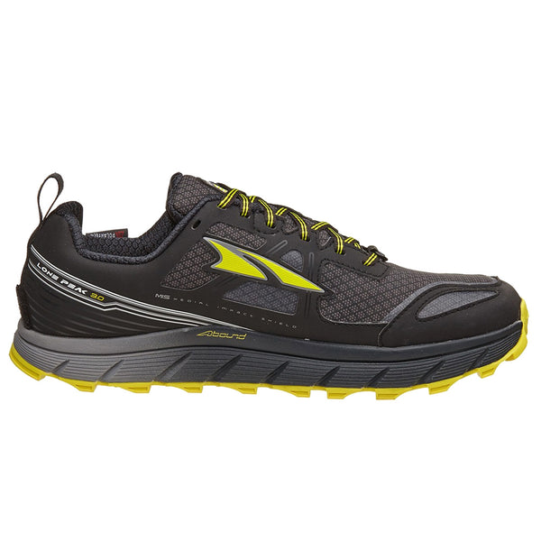 ALTRA A1653LOW-3 Mens Lone Peak 3 Low Neo Black/Yellow Running Shoes